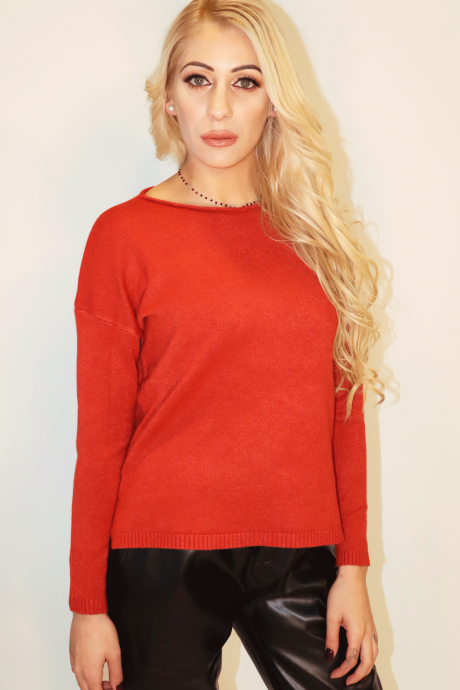 Knitted Top Oversized